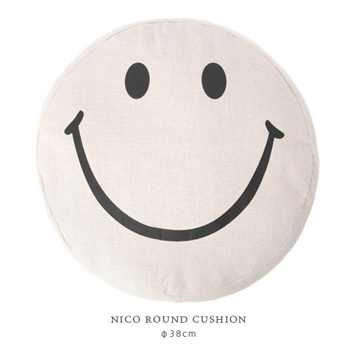 NICO ラウンドクッション
