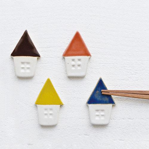 三角屋根のおうち箸置き