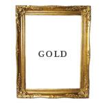 【フレーム Lサイズ】ゴールド