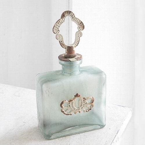 アンティーク ガラス瓶/一輪挿し/フラワーベース