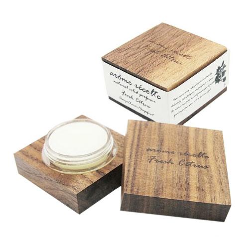 aroma recolte ナチュラル ソリッドパルファム 全3種 アロマレコルト 練り香水 natural solid perfume
