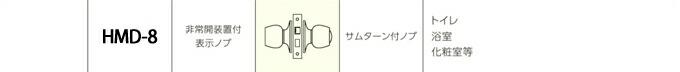 MIWA HMD-8詳細