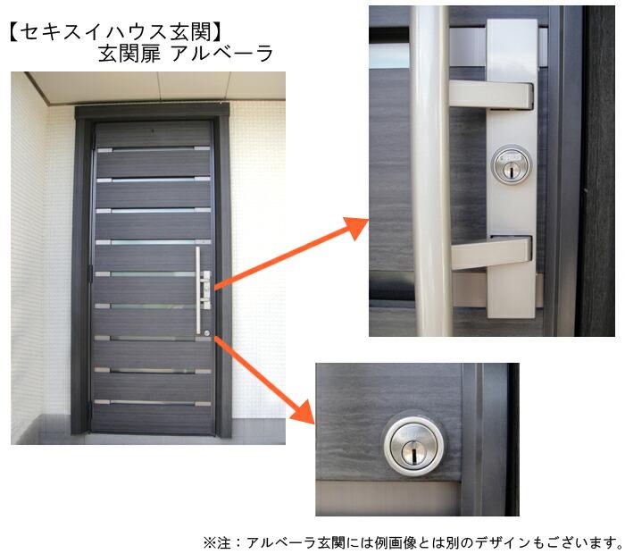 玄関ドアの例