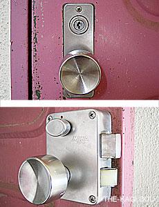 PMKタイプの錠前例