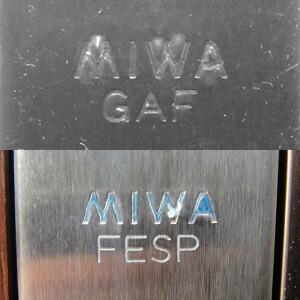 MIWA FESP刻印