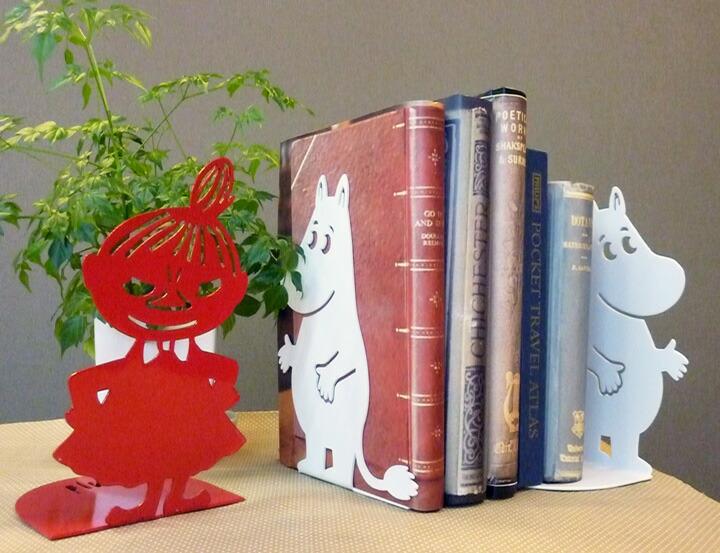 お気に入りの本をおしゃれに収納することができる、おすすめのブックエンドを教えてください。