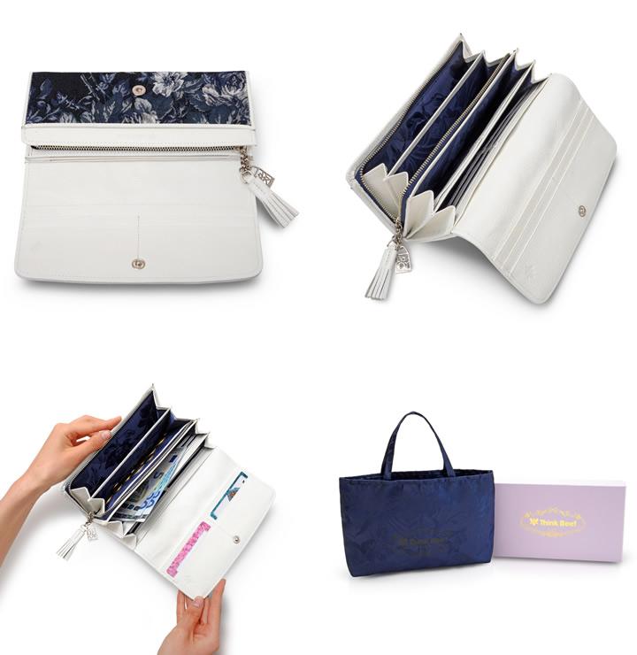 f6e48abea1c4 ビアンコ 長財布. 背面には、すぐ取り出したいものの収納に便利なオープンポケット付き。 お揃いのバッグとセットで持つのもおすすめです。