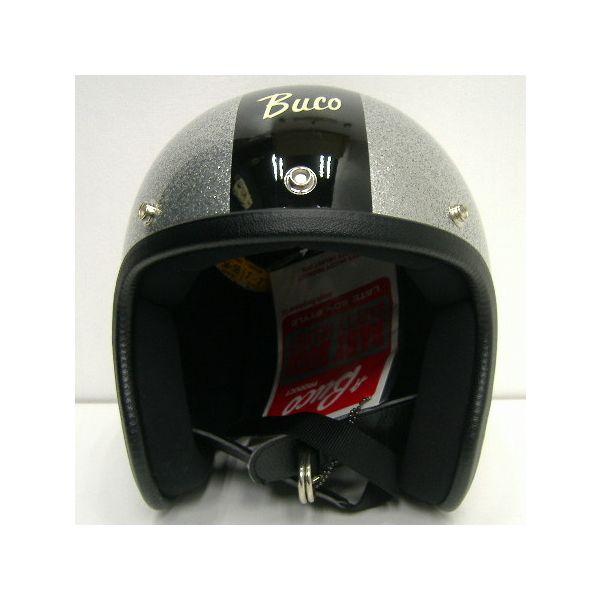 """TOYS McCOY(トイズマッコイ)BUCOブコヘルメット センターストライプ""""GT""""4"""