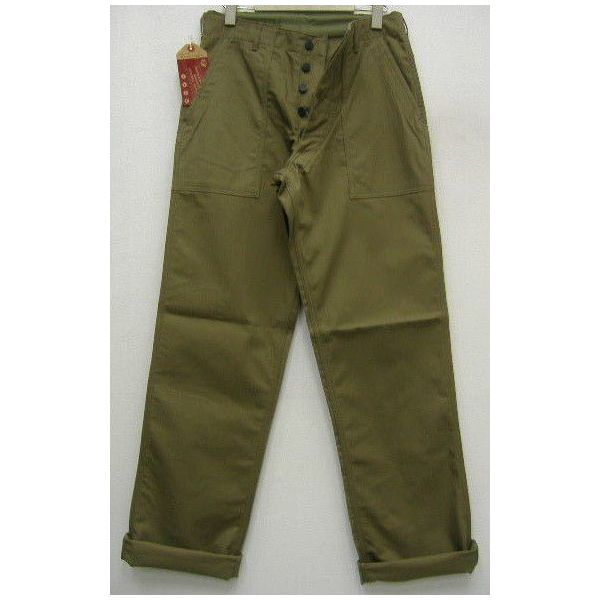 The REAL McCOY'S HBT TROUSERS [1947 PATTERN]  1