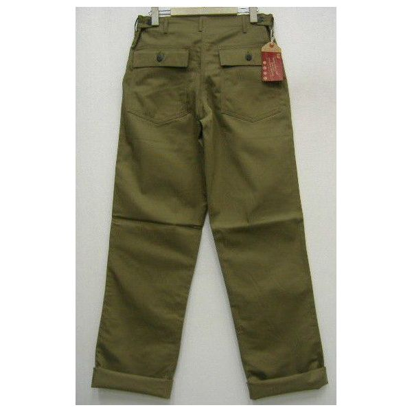 The REAL McCOY'S HBT TROUSERS [1947 PATTERN]  2