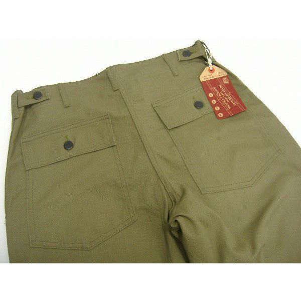 The REAL McCOY'S HBT TROUSERS [1947 PATTERN]  4
