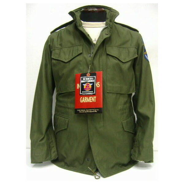The REAL McCOY'S [M-65 FIELD JACKET/ APACHE AERO SCOUTS] 2