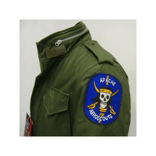 The REAL McCOY'S [M-65 FIELD JACKET/ APACHE AERO SCOUTS] 3