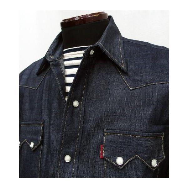 LEVI'S-XX VINTAGE CLOTHING/Archive [1955 Denim Shirt]  2