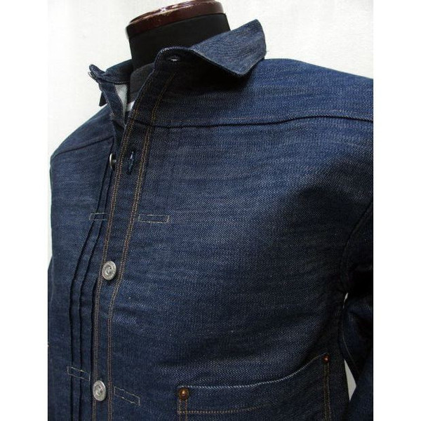 LEVI'S-XX [1880 Triple Pleat Blouse Jacket] 4