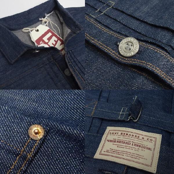 LEVI'S-XX [1880 Triple Pleat Blouse Jacket] 7