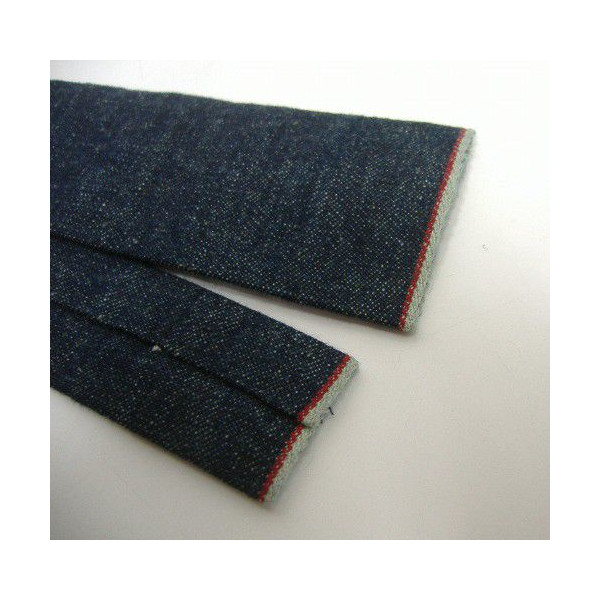 Hill-Side [Lightweight Selvedge Hemp Denim Tie] 5