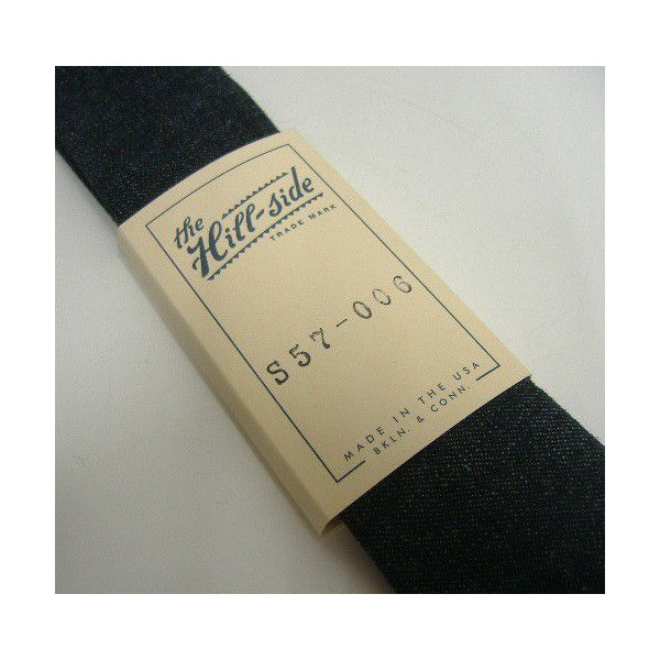 Hill-Side [Lightweight Selvedge Hemp Denim Tie] 3