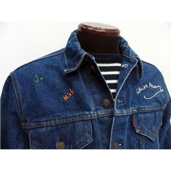SHANANA MIL [Vintage Levi's 3rd Type Denim Jacket] 3