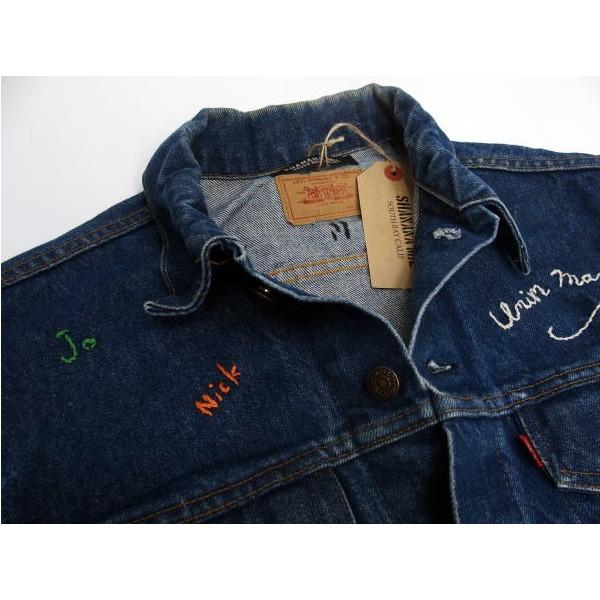 SHANANA MIL [Vintage Levi's 3rd Type Denim Jacket] 4
