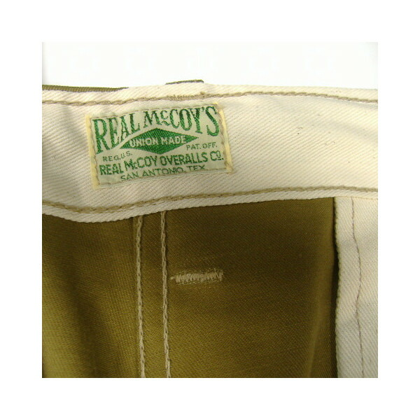 THE REAL McCOY'S(ザ・リアルマッコイズ)COTTON TROUSERS[BLUE SEAL] 4