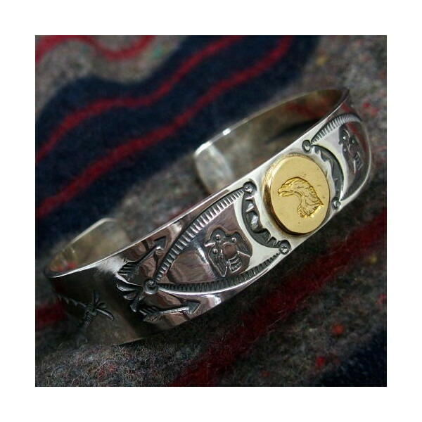 Silver Jewelry [18k Eagle Point Bangle] 1