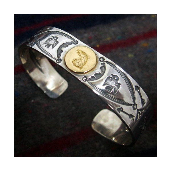 Silver Jewelry [18k Eagle Point Bangle] 2