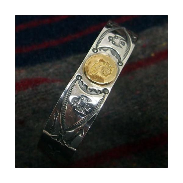 Silver Jewelry [18k Eagle Point Bangle] 3