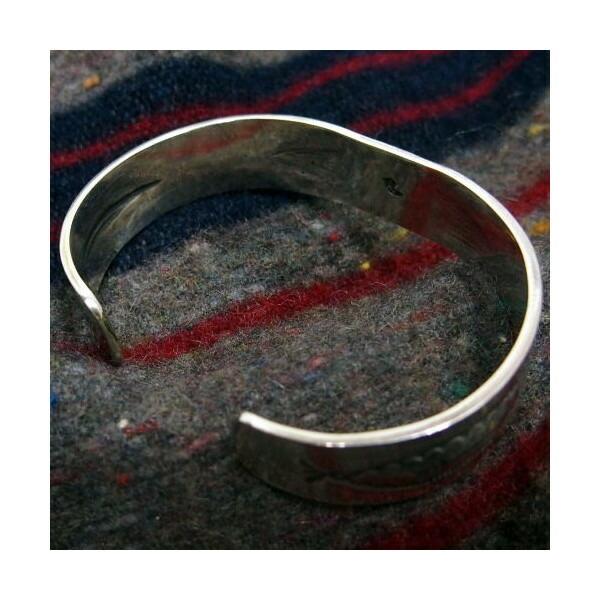 Silver Jewelry [18k Eagle Point Bangle] 5