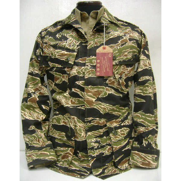 The REAL McCOY'S [TIGER ADS FATIGUE JACKET] 1