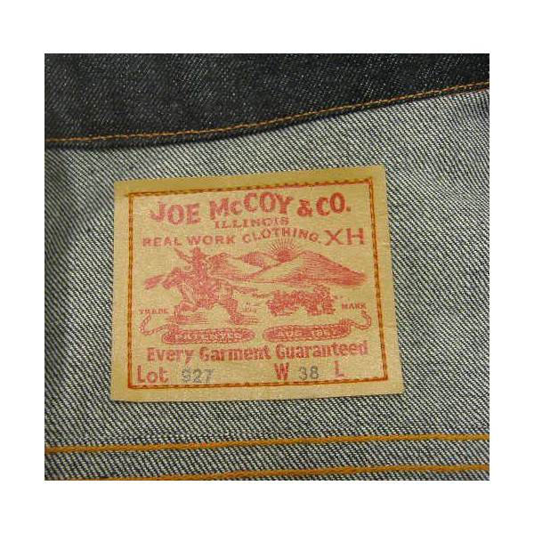 JOE McCOY [JOE McCOY DENIM JACKET Lot.927] 6
