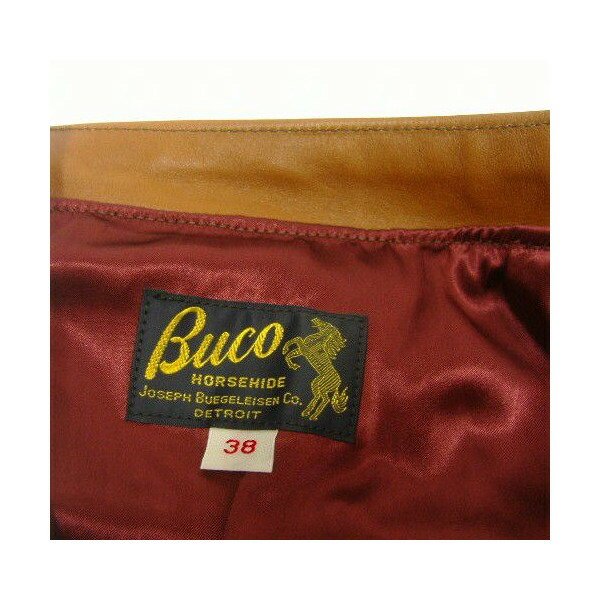 The REAL McCOY'S BUCO [J-100 JACKET/HORSE HAIDE] 6