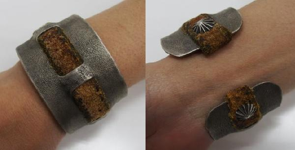 J.AUGUR DESIGN [Silver With Vintage Leather Brace] 7