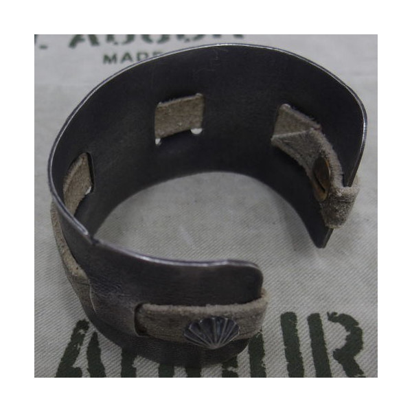J.AUGUR DESIGN [Silver With Vintage Leather Brace] 3