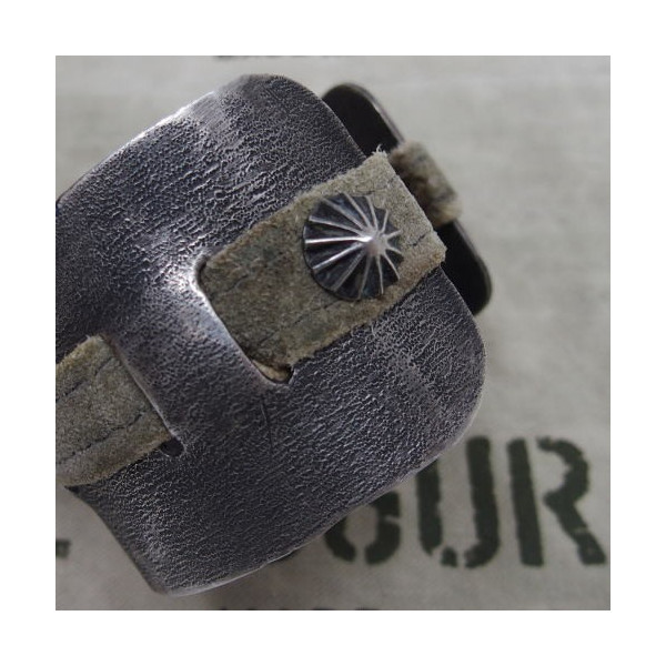 J.AUGUR DESIGN [Silver With Vintage Leather Brace] 4