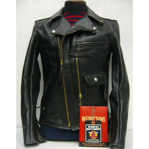 The REAL McCOY'S BUCO [J-24 JACKET/Black Quilting] 1