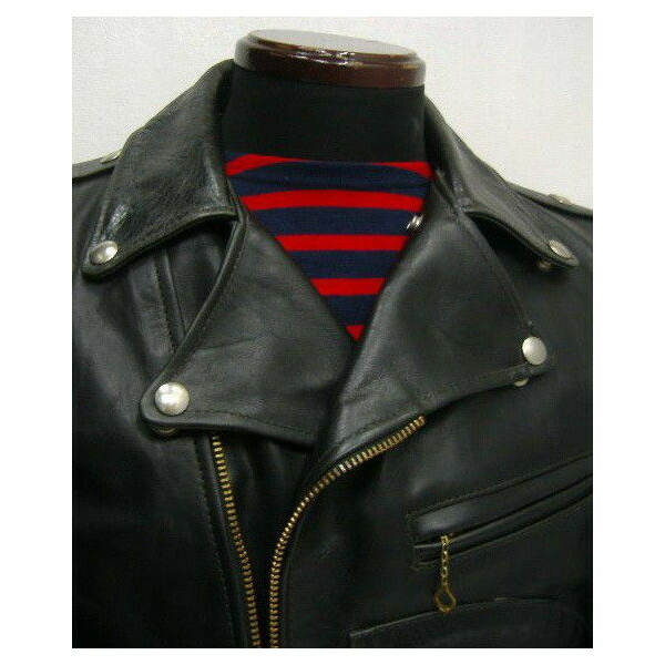 The REAL McCOY'S BUCO [J-24 JACKET/Black Quilting] 3