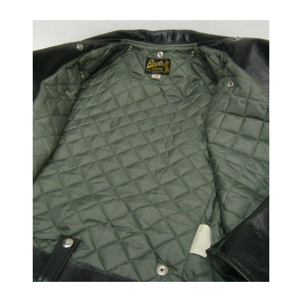 The REAL McCOY'S BUCO [J-24 JACKET/Black Quilting] 6
