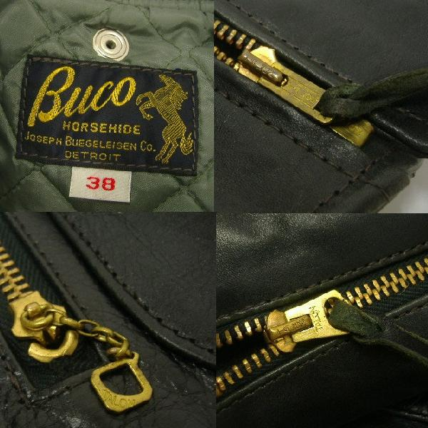 The REAL McCOY'S BUCO [J-24 JACKET/Black Quilting] 7