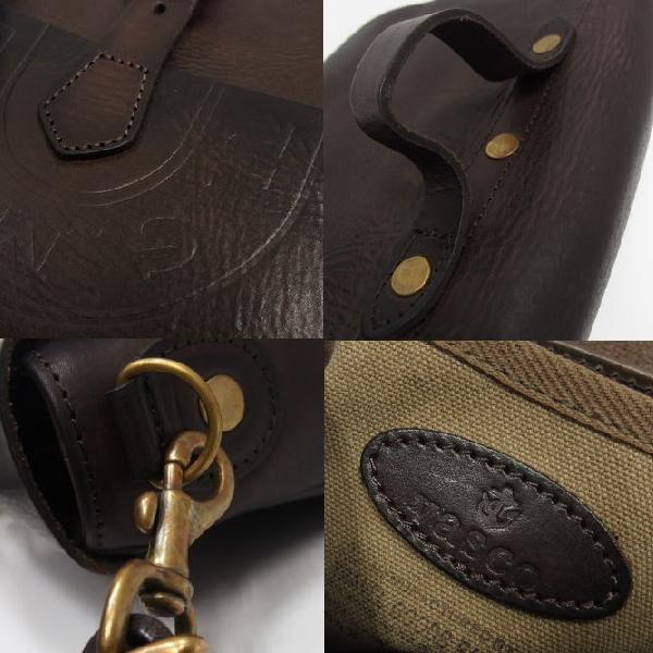 Vasco [U.S.MAIL Shoulder Bag/Leather Postman Mini] 7