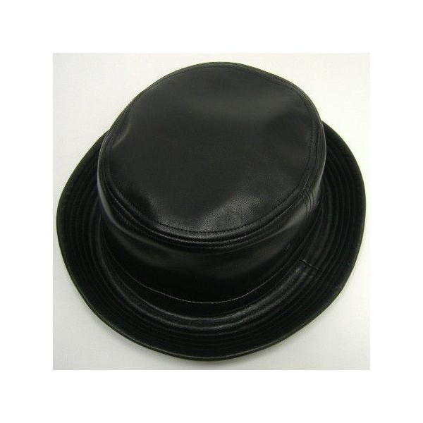 JOE McCOY [LEATHER PORKPIE HAT] 1