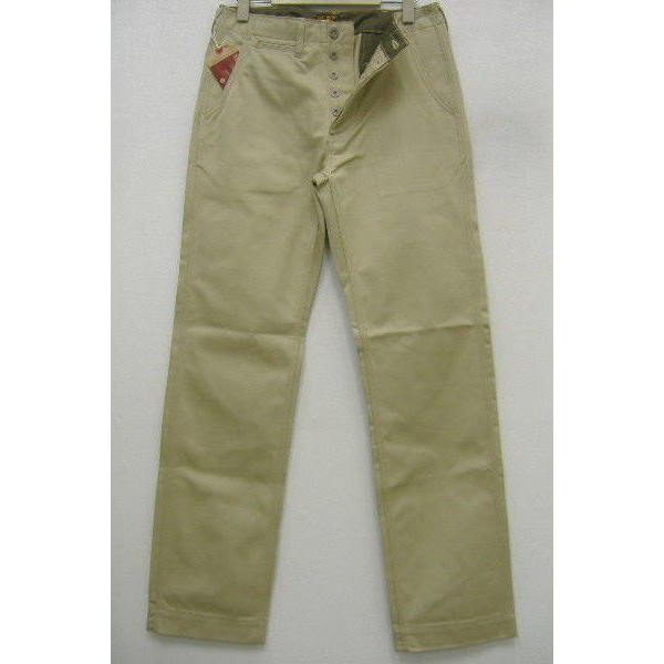 The REAL McCOY'S [KHAKI TROUSERS/41' KHAKI-H.B.T.]  1