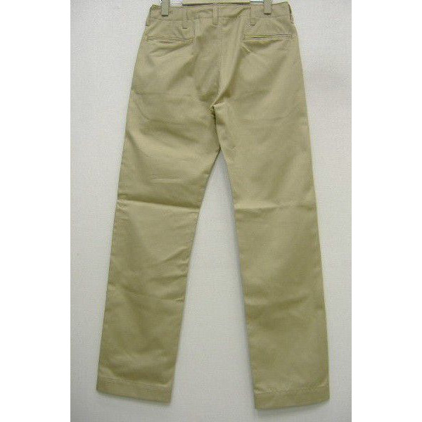 The REAL McCOY'S [KHAKI TROUSERS/41' KHAKI-H.B.T.]  2