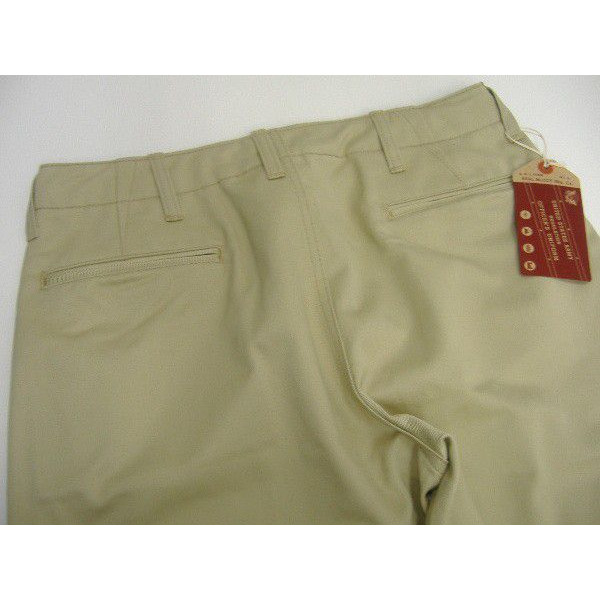 The REAL McCOY'S [KHAKI TROUSERS/41' KHAKI-H.B.T.]  4