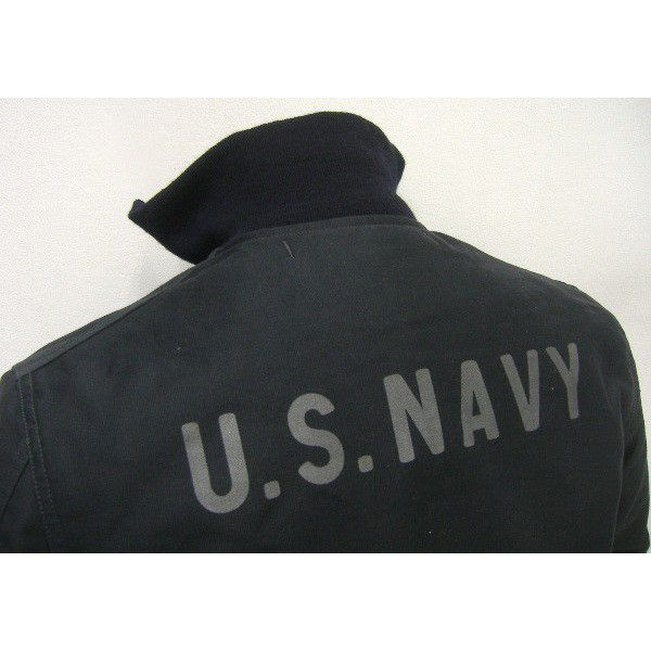 The REAL McCOY'S Military Jacket [BLUE COLD WEATHER JACKET] 4