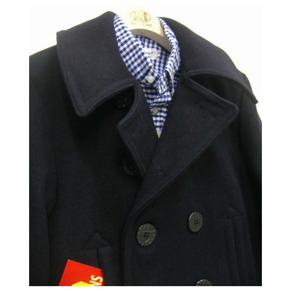THE REAL McCOY'S [U.S.NAVY REA COAT] 2