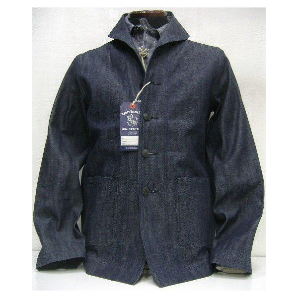 THE REAL McCOY'S(ザ・リアルマッコイズ)THE REAL McCOY'S USN DENIM JACKET[USN ANCHOR] 1