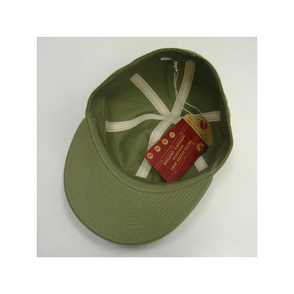 The REAL McCOY'S MILITARY CAP [A-3 CAP]  4