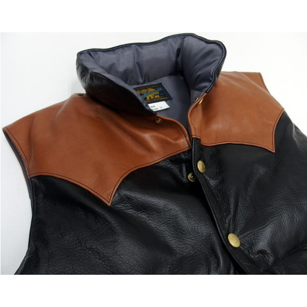 Rainbow Country [All Leather Down Vest] 5