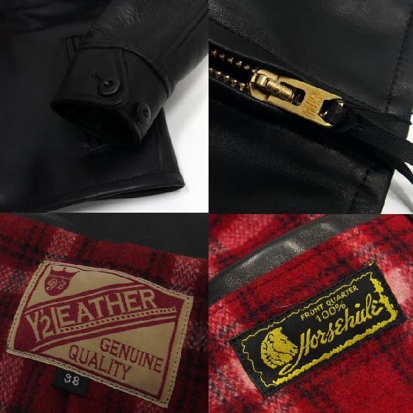 Y'2 Leather [HV Horse Single Riders Jacket] 7
